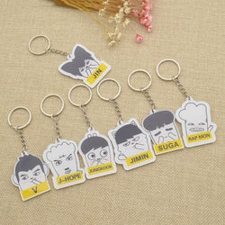 BTS Chibi Keychains - affordable Cheap Clothes Quality styles
