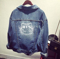 BTS Denim Jackets - affordable BTS Cheap Clothes Quality