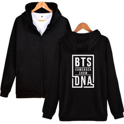 BTS DNA Hoodies - affordable BTS Cheap Clothes KPOP Sweaters