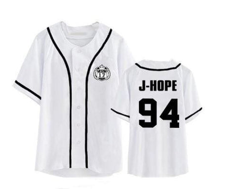 BTS Jerseys - affordable BTS Cheap Clothes KPOP Shirts - 94 J HOPE / S