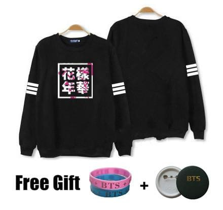 BTS MFL Sweaters - affordable BTS Cheap Clothes KPOP Sweaters - No name / S