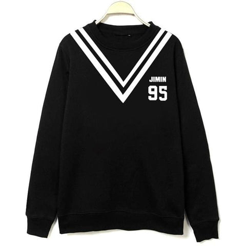 BTS Sweaters - affordable BTS Cheap Clothes Quality - JIMIN Black / M