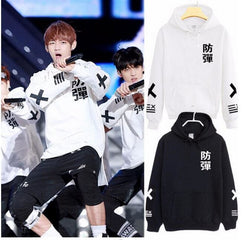 BTS X Hoodies - affordable BTS Cheap Clothes Hoodies