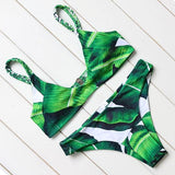 Cancun Bikinis - affordable Cheap Clothes Quality styles - Leaf Green / S