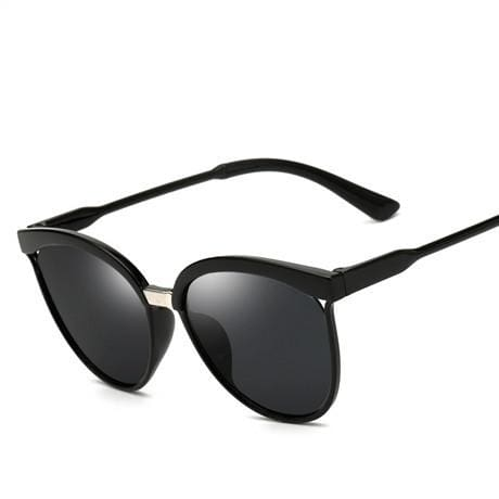 Cat Eye Sunglasses - affordable Cheap Clothes Quality styles - black