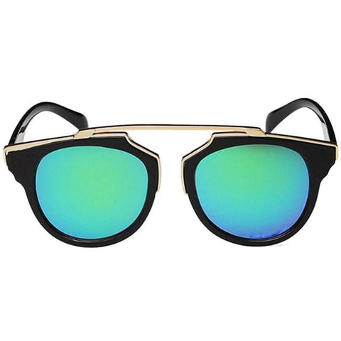 Cat Eyes Sunglasses - affordable Cheap Clothes Quality styles - blue green