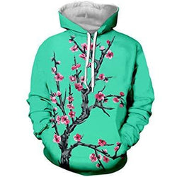 Cherry Blossom Tea Shirts Hoodies Tanks Shorts Pants Socks - Arizona Tea Bottoms Hoodies Longsleeves Mens Bottoms - Hoodies / S