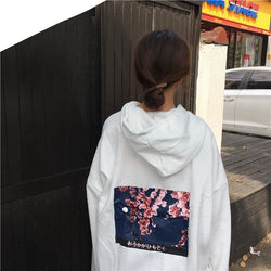 Cherry Blossoms Hoodies - affordable Cheap Clothes Quality Streetwear Tops