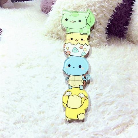 Chibi Monster Pins