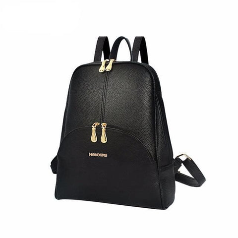 City Backpack - affordable Backpacks Cheap Clothes Quality - Black
