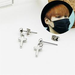 Cross Earrings - affordable BTS Cheap Clothes Earrings