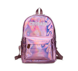 CRYBABY Backpacks - affordable Backpacks Cheap Clothes Quality - pink / 14 Inches