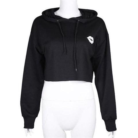 Cute Hoodies - affordable Cheap Clothes Crop Tops Quality - Black / L
