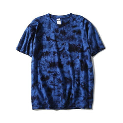 Dark Blue Tie Dye Shirt - Shirts