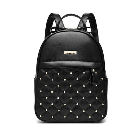 Diamond Backpacks - affordable Backpacks Cheap Clothes Quality - Black