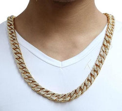 Diamond Cuban Link Chains - affordable Cheap Clothes Quality Streetwear Accessories
