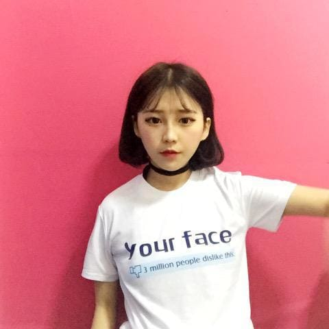 Dislike Your Face Shirts - affordable Cheap Clothes Quality styles - White / One Size