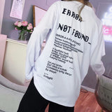 Error Not Found Longsleeves - Mens Longsleeves