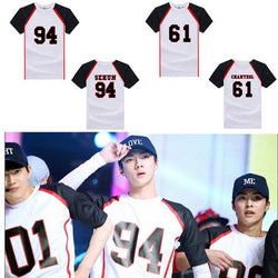 EXO Baseball Shirts - affordable Cheap Clothes EXO Quality