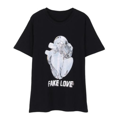 Fake Love Shirts - affordable Cheap Clothes Quality Streetwear Tops - black / S