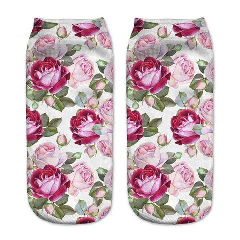 Floral Socks - affordable Cheap Clothes Quality styles