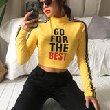 Go For The Best Turtleneck Crop Tops - affordable Cheap Clothes Quality styles