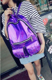 Holographic Backpacks - affordable Backpacks Cheap Clothes Quality - Big Purple