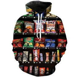 Hoodies Shirts Pants Socks Tank Tops Snack Machine - Bottoms Mens Bottoms Mens Hoodies Mens Shirts Shirts - Hoodies / S