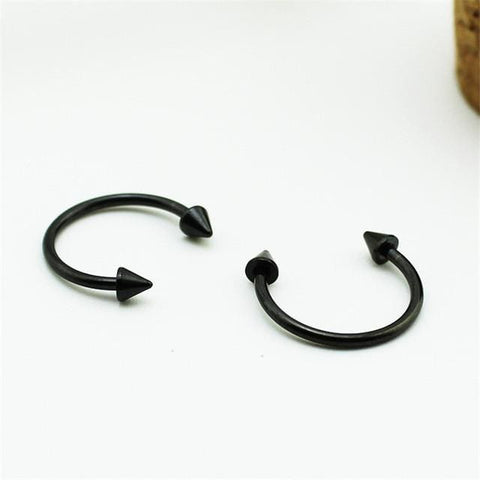 Horn Earrings - affordable BTS Cheap Clothes Earrings