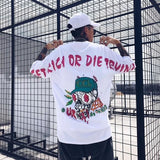 Hustle Everyday Shirts - get rich or die trying streetwear - White / US Size S