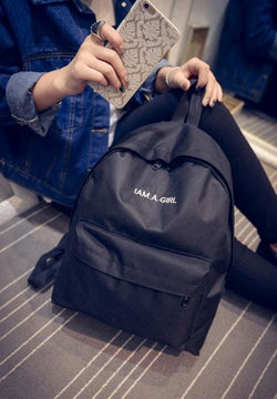 I Am A GIRL Backpacks - affordable Backpacks Cheap Clothes Quality