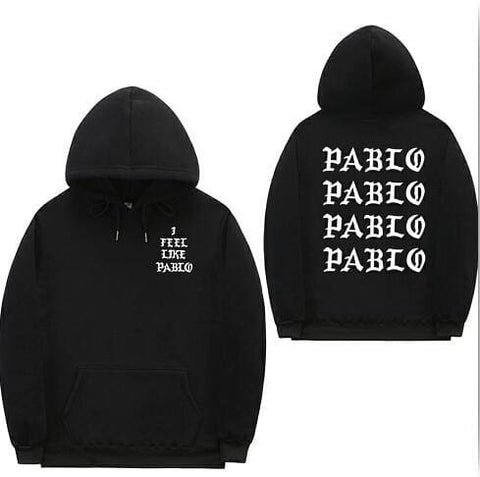 I Feel Like Pablo Hoodies - affordable Cheap Clothes Mens Hoodies Quality - 1 / S