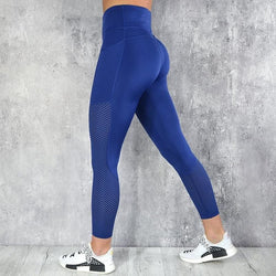 Illia High Waist Mesh Leggings - affordable Cheap Clothes Quality styles