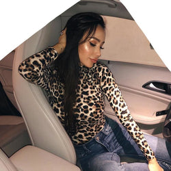 Jessalyn Leopard Bodysuits - affordable Cheap Clothes Quality styles
