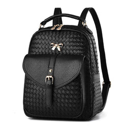 Kameko Faux Leather Backpack - affordable Cheap Clothes Quality styles
