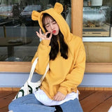 Klaire Hoodies - affordable Cheap Clothes Quality styles - yellow / L
