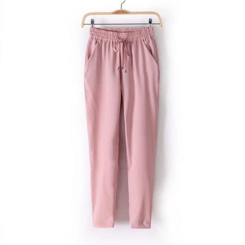 L.A Pants - affordable Cheap Clothes Quality styles - Pink / L