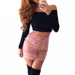 Lace up Skirts - affordable Cheap Clothes Quality styles