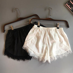 Laced in Love Silk Shorts - affordable Cheap Clothes Quality styles