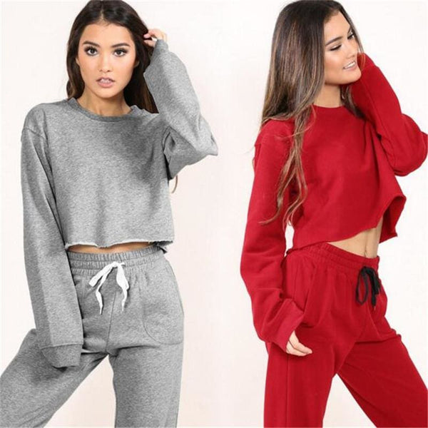 1ece833971035 Lara Tracksuit - BoomOutlet - affordable Cheap Clothes Crop Tops Longsleeves