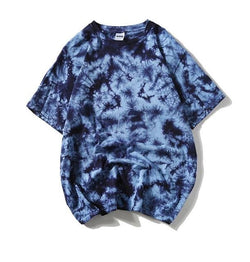 Light Blue Tie Dye Shirt - Shirts