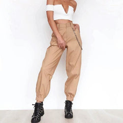 Lilia High Waist Joggers - affordable Cheap Clothes Joggers Quality