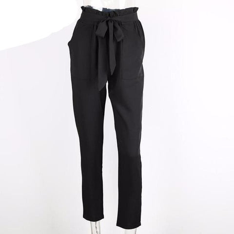 London Pants - affordable Cheap Clothes Quality styles - Black / S