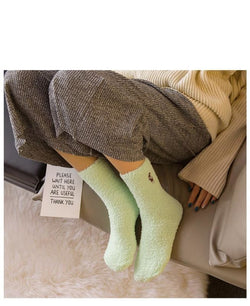 Lovely Plush Embroidery Socks - affordable Cheap Clothes Quality styles
