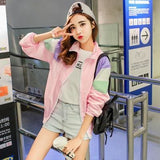 Macaroon Windbreakers - affordable Cheap Clothes Quality styles - Pink / M