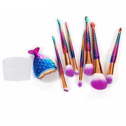 Mermaid Makeup Brushes - affordable Cheap Clothes Quality styles