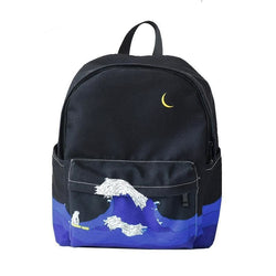 Midnight Wave Backpacks - affordable Cheap Clothes Quality styles
