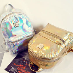 Mini Holographic Backpacks - affordable Backpacks Cheap Clothes Quality