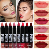 Miss Rose Velvet Matte Lipstick Pencil - affordable Cheap Clothes Quality styles