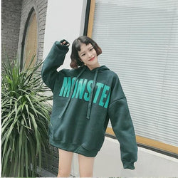 Monster Hoodies - affordable Cheap Clothes Quality Streetwear Tops - Green / XL